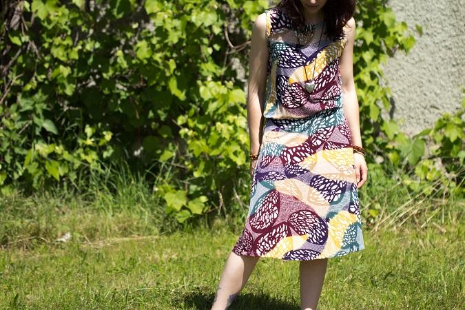 Kleid nähen Burda Schnitt