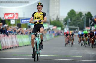 Lars Boom ha vinto la quinta tappa del BinckBank Tour 2017