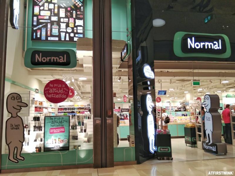 Normal store in Utrecht Hoog Catharijne shopping mall Netherlands