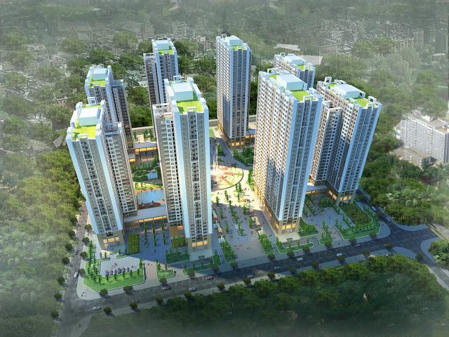 Phối cảnh tông quan dự án An Bình City -232 Phạm Văn Đồng