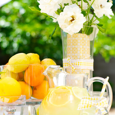 Summer Party Ideas | Citrus Themed Ladies Luncheon