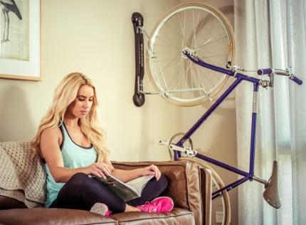 Soporte de pared para bicicleta Steadyrack Fende
