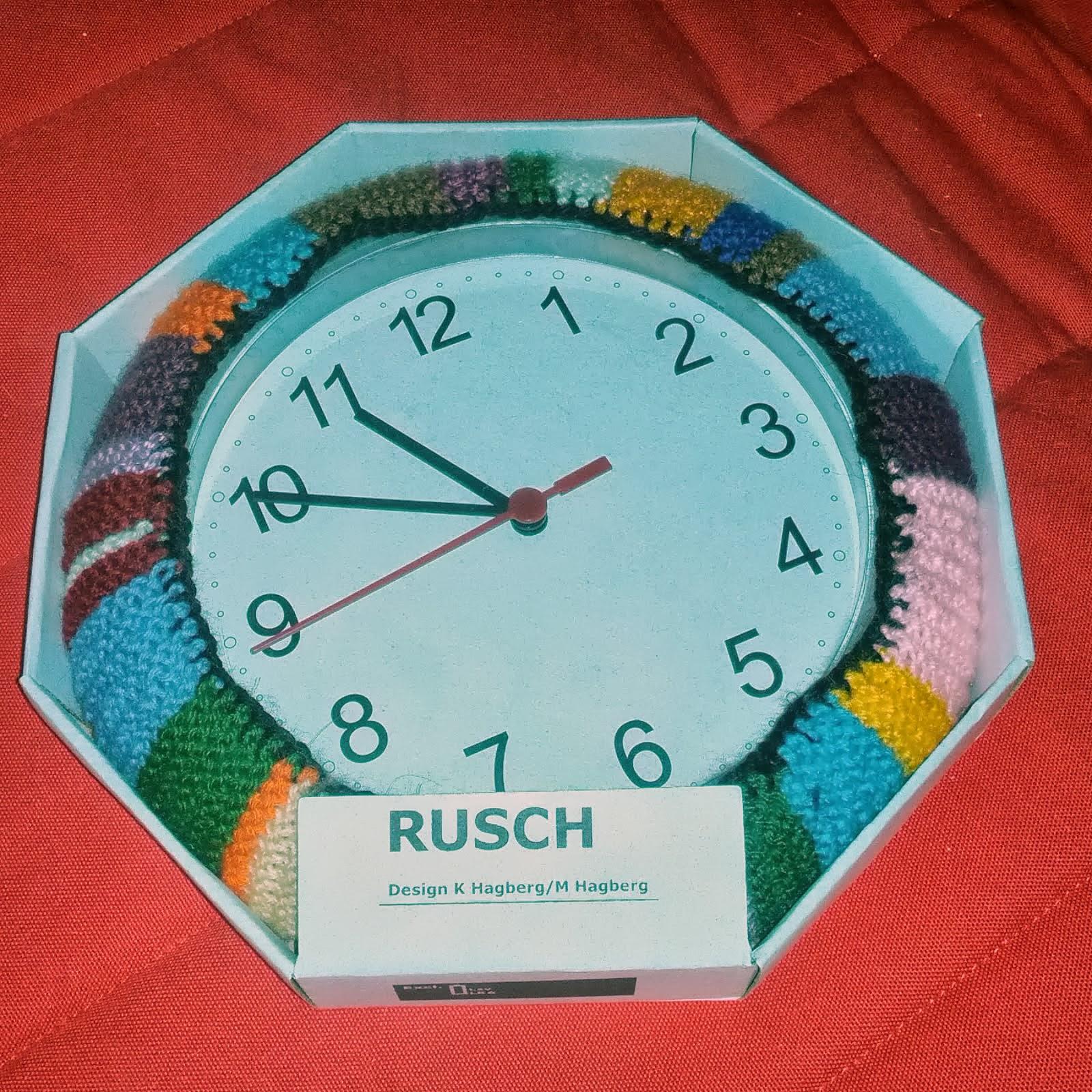 Ekby Alex Desk Knitted Rusch Clock Ikea Hackers Ikea Hackers
