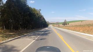 Belas paisagens na BR-381.