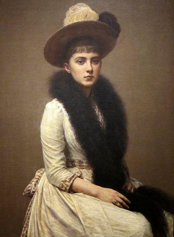 Retrato de Sônia - Henri Fantin-Latour - Suas melhores pinturas ~ francês