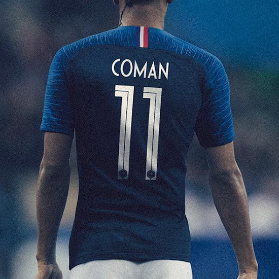 online retailer 35901 cbd23 Unique Nike France 2018 World Cup Kit Font Revealed - Footy ...