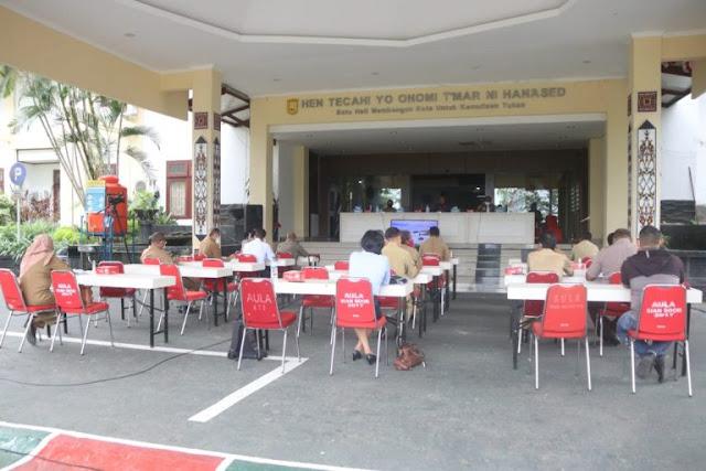 Benhur Tomi Mano Ungkap Protokol Kesehatan di Kantor Pemkot Jayapura Harus Diperketat