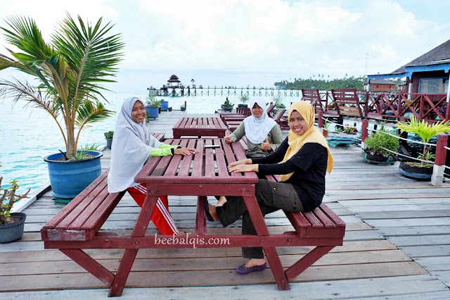 Blogger Indonesia Explore Maratua Paradise Resort - Pulau Maratua