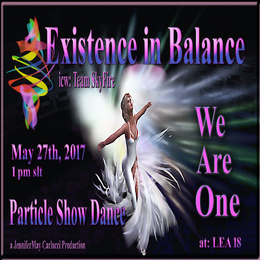 LEA18 Particle Show Dance May 27,2017 at 1 p.m. slt