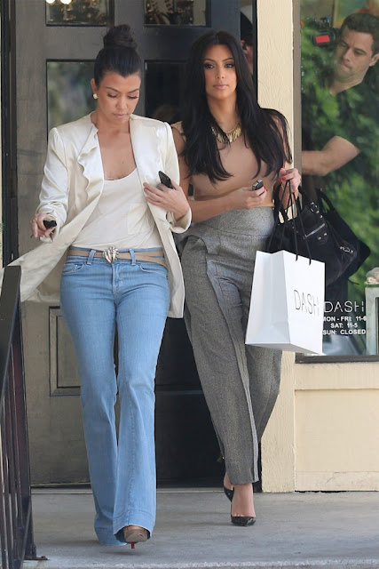 kourtney-kardashian-bell-bottom-jeans