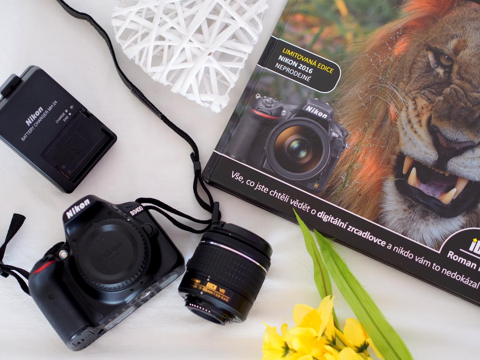 Nikon D3400 vs. Nikon D3100  & objektív 18-55 mm f/3.5 - 5.6 // moje hodnotenie, výhody, prvé dojmy a ukážky fotografií