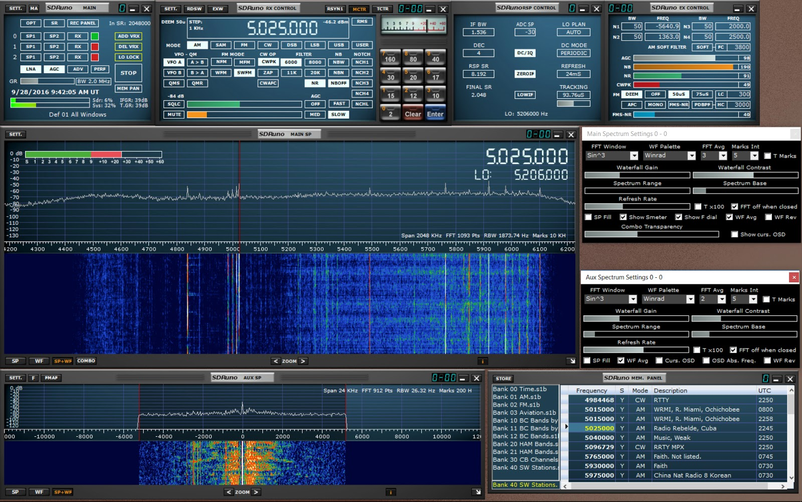 Media Tools & Technology: First Look: SDRPlay RSP1Powerful