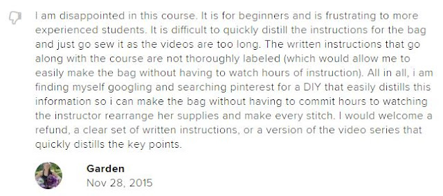 review of Betz White course on CreativeLive