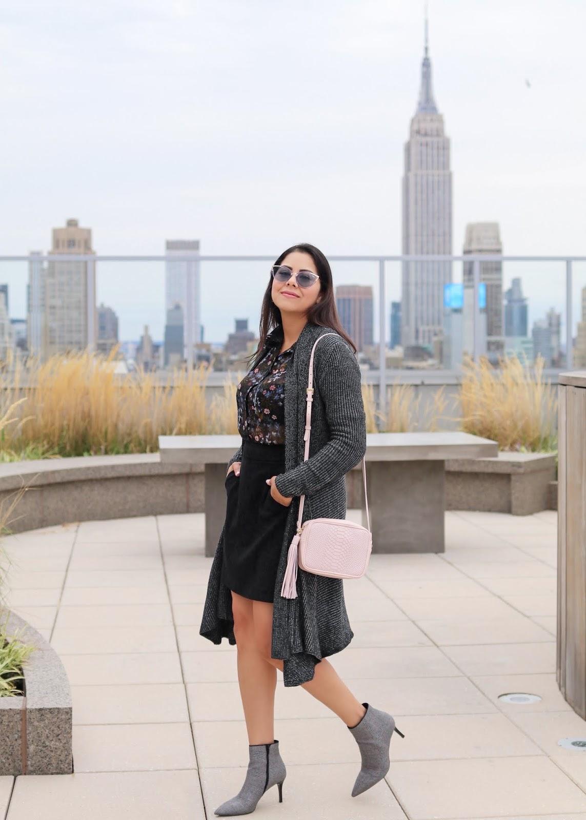 walking into fall 2018 like, quay cateye sunglasses