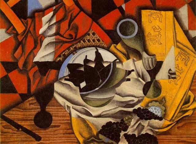Juan Gris, Masada Armut ve Üzümler