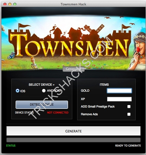 TOWNSMEN HACK CHEATS TOOL [ANDROID / iOS]