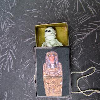 Small World Land Pop Up Matchbook Sarcophagus