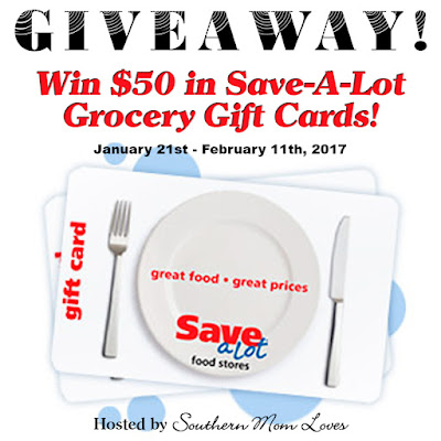 Enter the Save-A-Lot $50 Game Day Giveaway. Ends 2/11
