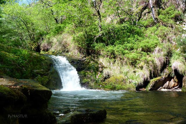 Cascada en el Río Infierno - Asturias