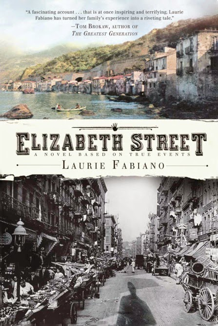 http://www.amazon.com/Elizabeth-Street-Laurie-Fabiano-ebook/dp/B0030AOBR0/ref=sr_1_1?s=digital-text&ie=UTF8&qid=1412353209&sr=1-1&keywords=elizabeth+street+kindle+edition