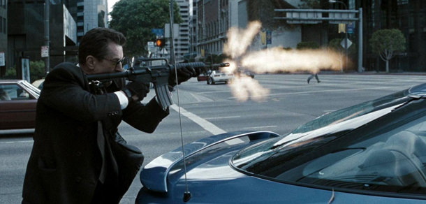 Robert De Niro en 'Fuego contra fuego'
