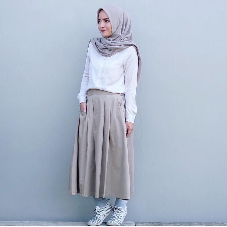 10 Gaya Model Baju Muslim Jaman Sekarang Alsainsia