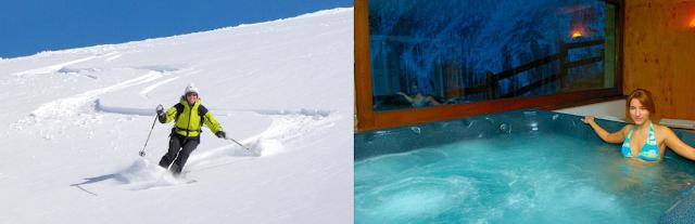 Ski de Rando et Spa en Val d'Aoste