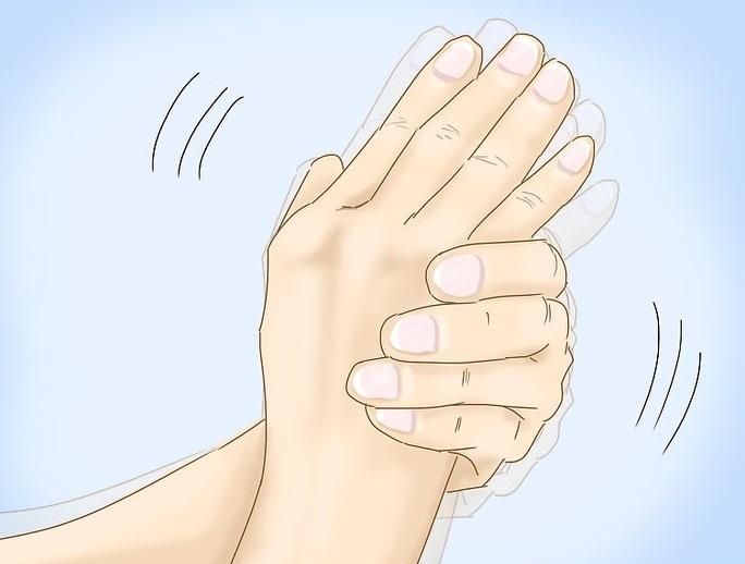 yrsel skakningar i händerna