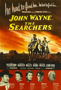 John Wayne's The Searchers movie poster