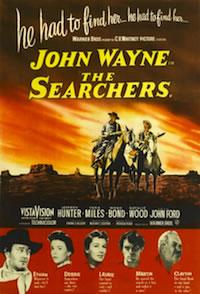 John Wayne's The Searchers movie poster