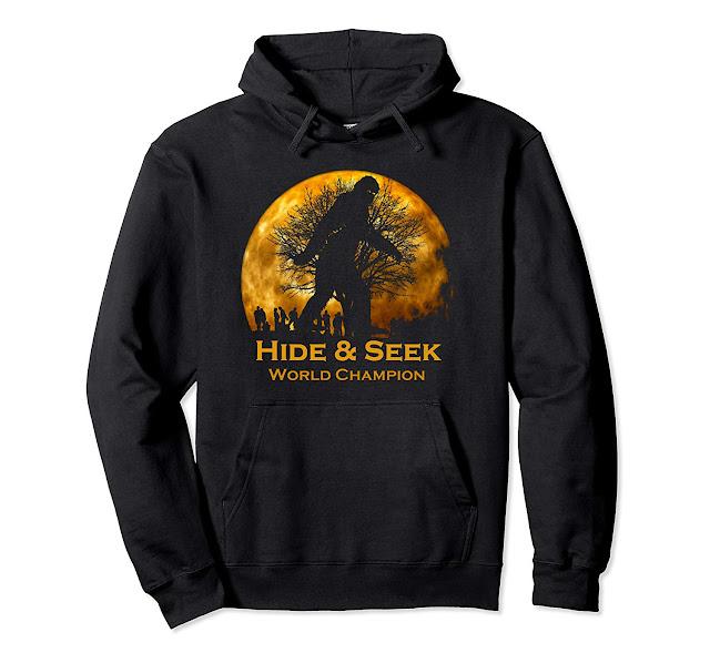 Reto Vintage Hide and Seek World Champion Bigfoot Hoodie