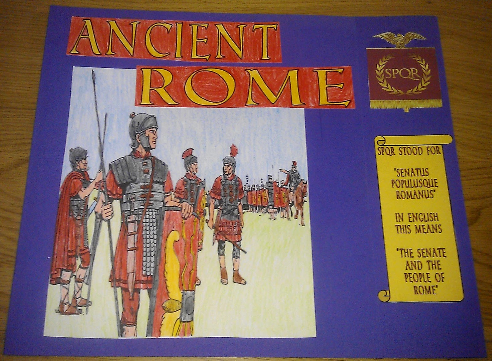 Iman S Home School Ancient Rome Lapbook