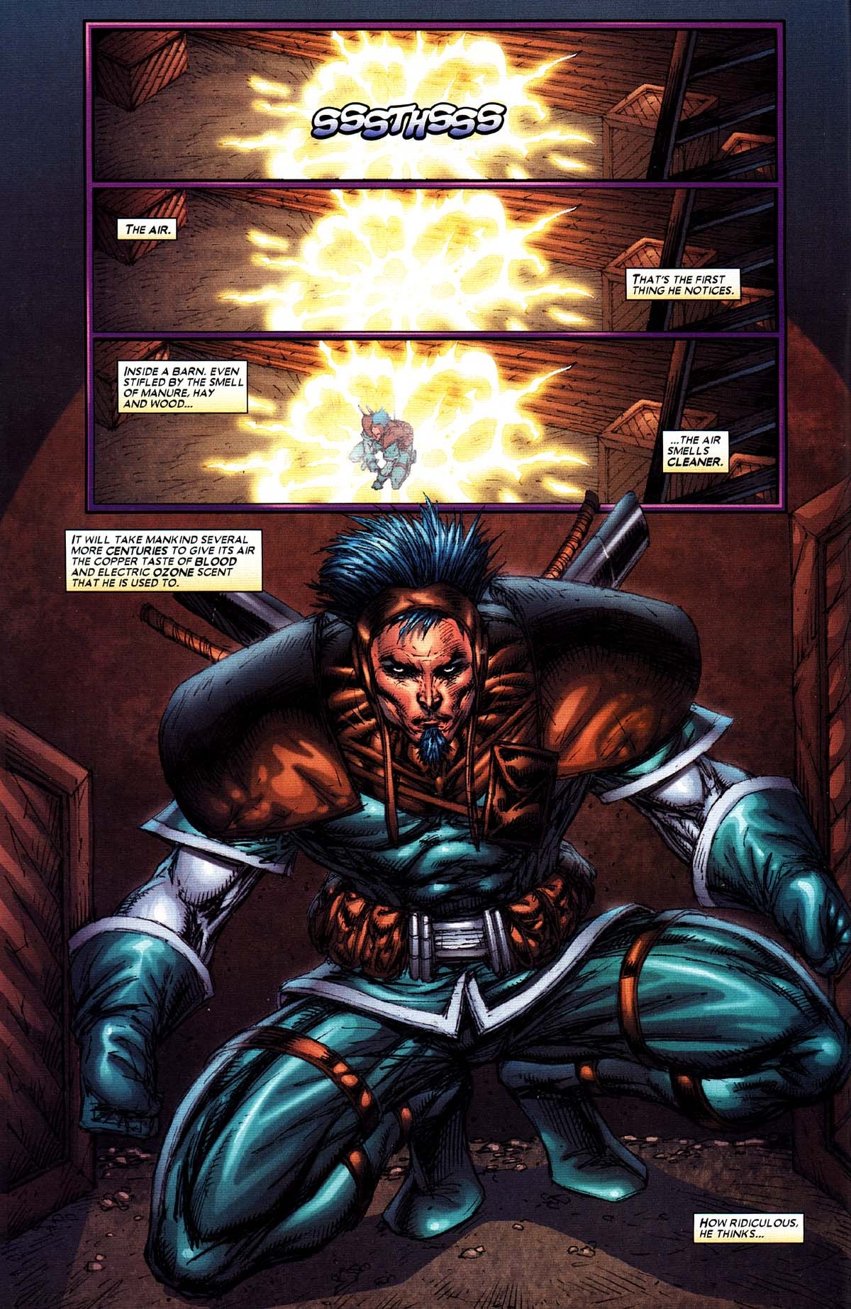Read online X-Force (2004) comic -  Issue #2 - 6