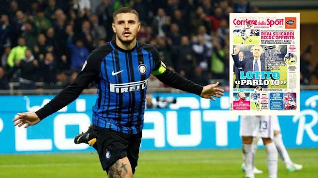 Real bật đèn xanh bán Ronaldo: Icardi 110 triệu euro thay thế 2