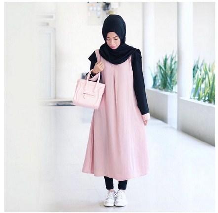 Outfit Hijab Ke Kampus