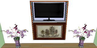 Konsep Desain Backdrop Tv