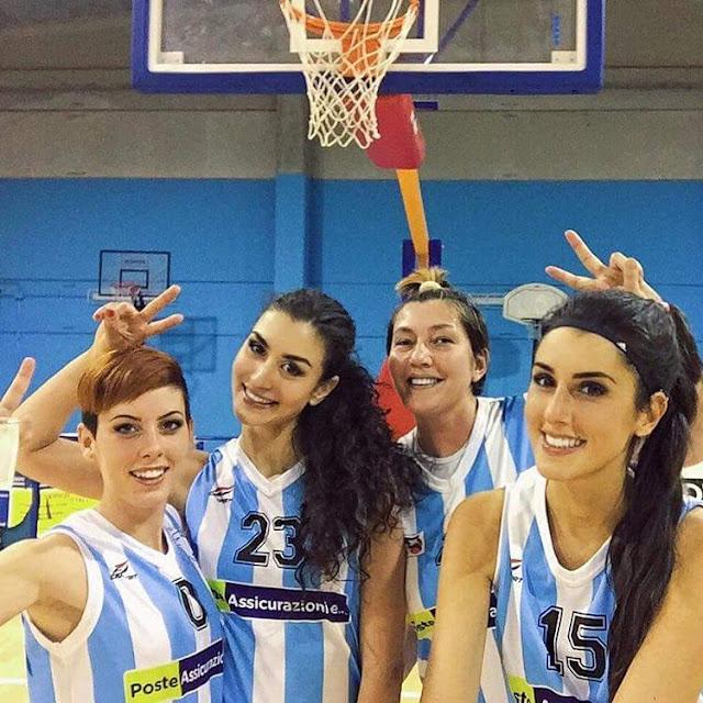 Φωτογραφικό αφιέρωμα στην Ιταλίδα αθλήτρια του basket, Giulia Neccia.