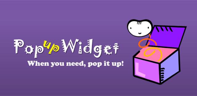 Popup Widget 2 v2.2.6 Apk Miki