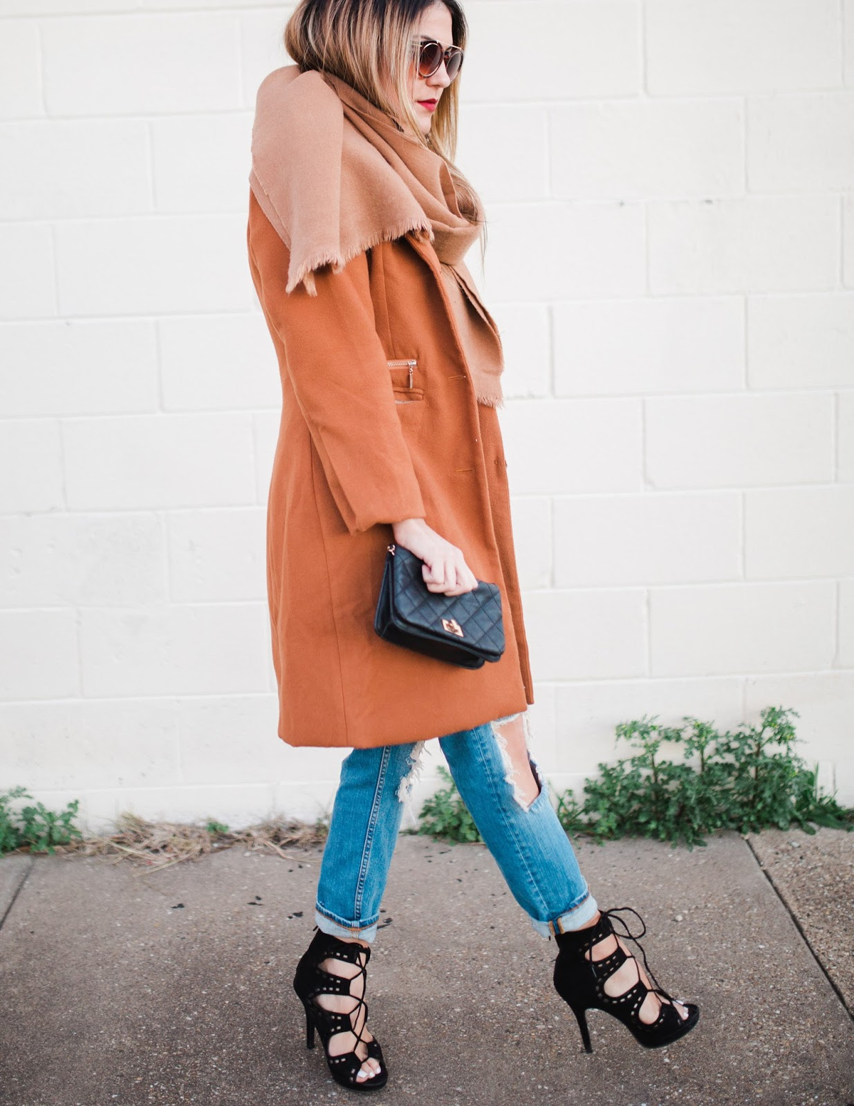 Dark Camel Coat - My Cup of Chic