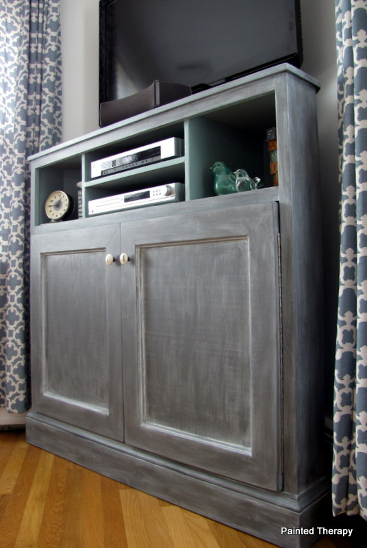 Ana White | Tall Corner Media Console - DIY Projects