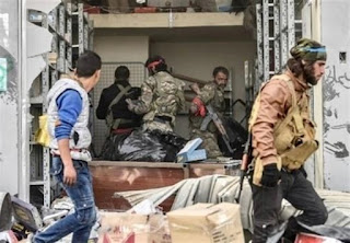 """Turkey-Backed """"Militants"""" Loot, Destroy Civilian Property in Northern Syria"""