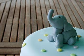 Tarta bebe elefante