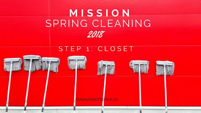Mission Spring Cleaning - Step 1: Spring Cleaning your closet