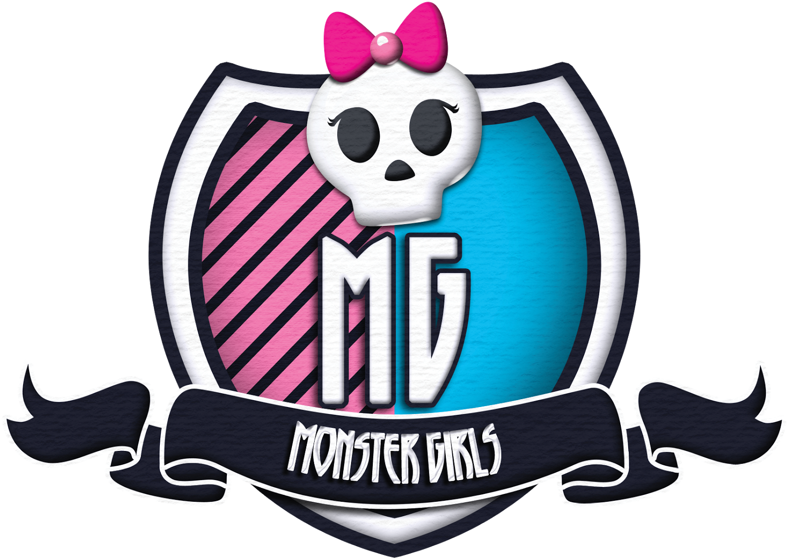 Monster High Clip Art: Backgrounds and Borders.