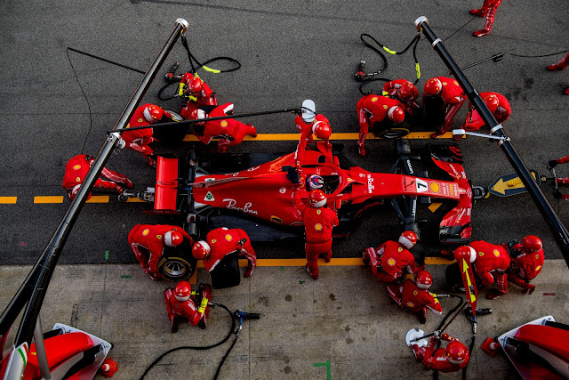 @Lenovo Kicks Off Multi-Year @ScuderiaFerrari Partnership in #Melbourne #FormulaOne
