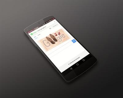 Nexus pantalla buscador Google