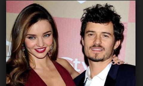 El Actor Orlando Bloom y Miranda Kerr Estan Separados