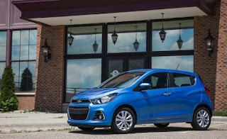Chevrolet Spark 2018 - 2018 voitures les moins chères