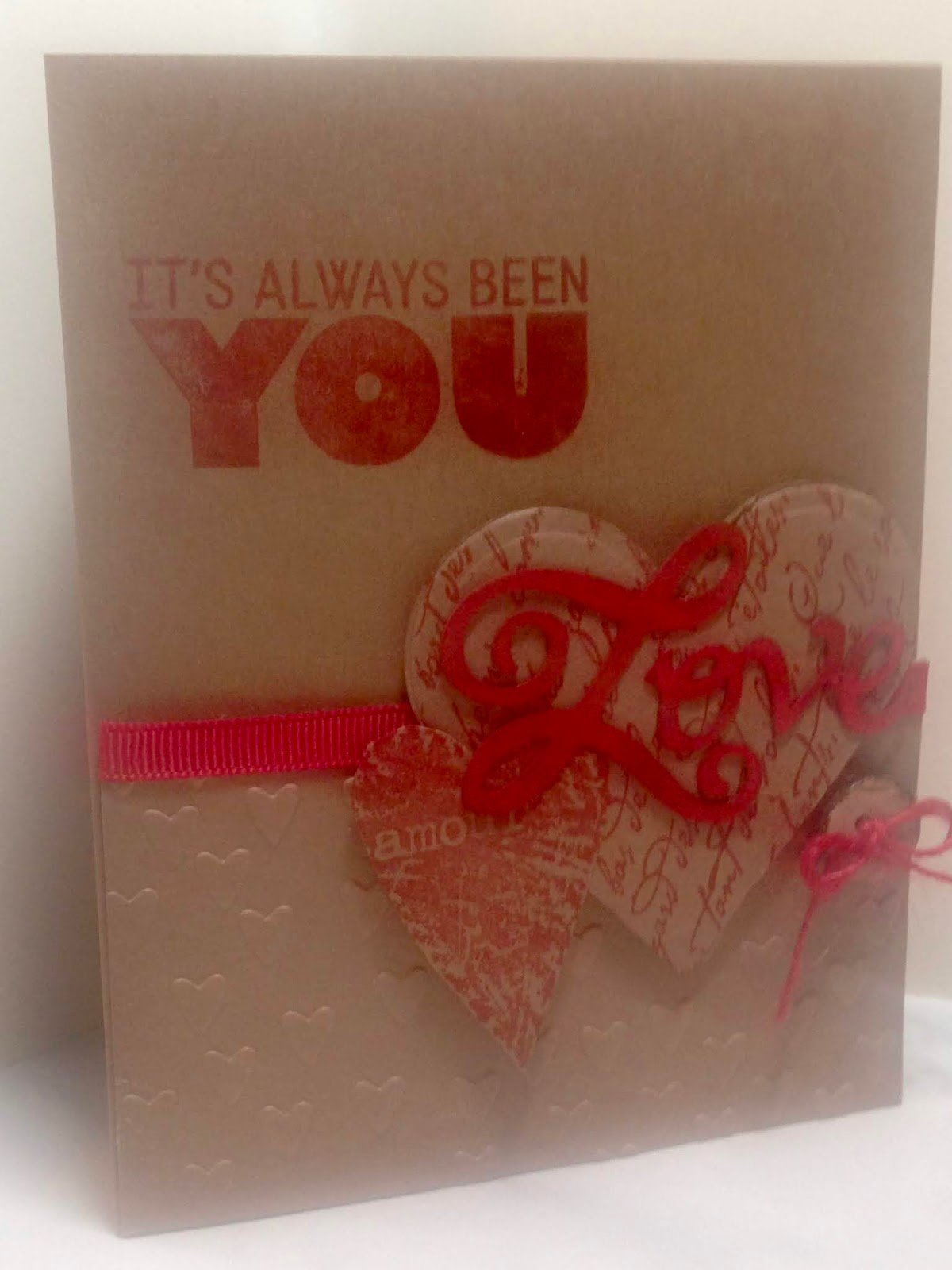 Amy S Creative Pursuits A Handmade Anniversary Card And Our 31st