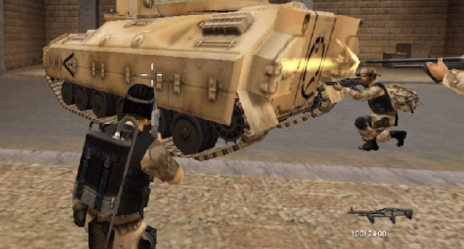 تحميل لعبة عاصفة الصحراء Desert Storm 2